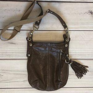 B. Makowsky Leather Crossbody l EUC